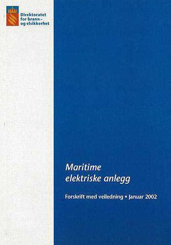 Forskrift om maritime elektriske anlegg